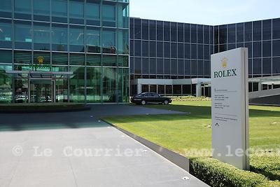 Genève, le 17.06.2009.Batiment de Rolex.© Le Courrier / J.-P. Di Silvestro