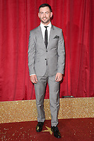 Cameron Moore<br /> arrives for the British Soap Awards 2016 at Hackney Empire, London.<br /> <br /> <br /> &copy;Ash Knotek  D3124  28/05/2016