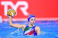 3 ITA GARIBOTTI Arianna Italy <br />  <br /> Budapest 12/01/2020 Duna Arena <br /> GERMANY (white caps) Vs. ITALY (blue caps)<br /> XXXIV LEN European Water Polo Championships 2020<br /> Photo  © Andrea Staccioli / Deepbluemedia / Insidefoto