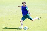 24.06.2020, wohninvest Weserstadion Trainingsplatz, Bremen, GER, 1. FBL, Training SV Werder Bremen, <br /><br />im Bild<br />Simon Straudi (Werder Bremen #26) am Ball.<br /><br />Foto © nordphoto / Paetzel *** Local Caption ***