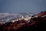 Las Alpujaras, Spain, Capileria, a village in the Las Alpujaras, a hidden valley in Andalucia, Spain, Europe,.