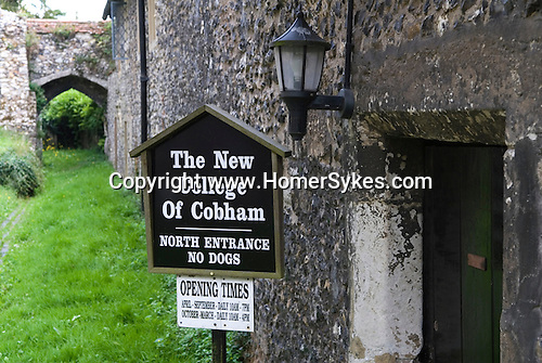 Cobham Kent. UK. The Alms Houses called The New College of Cobham.