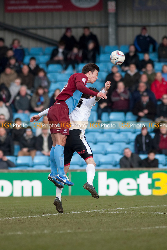 - Scunthorpe United vs Leyton Orient - NPower League One Football at Glanford Park - 29/03/13 - MANDATORY CREDIT: Mark Hodsman/TGSPHOTO - Self billing applies where appropriate - 0845 094 6026 - contact@tgsphoto.co.uk - NO UNPAID USE.
