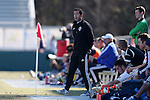 24 February 2013: Vancouver head coach Martin Rennie (SCO). The NASL Carolina RailHawks played MLS's Vancouver Whitecaps FC at WakeMed Stadium in Cary, North Carolina in a 2013 preseason game. Vancouver won the game 3-0.