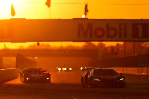 2017 IMSA WeatherTech SportsCar Championship<br /> Mobil 1 Twelve Hours of Sebring<br /> Sebring International Raceway, Sebring, FL USA<br /> Saturday 18 March 2017<br /> 86, Acura, Acura NSX, GTD, Oswaldo Negri Jr., Tom Dyer, Jeff Segal<br /> World Copyright: Jake Galstad/LAT Images<br /> ref: Digital Image lat-galstad-SIR-0317-14642