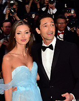 www.acepixs.com<br /> <br /> May 17 2017, Cannes<br /> <br /> Lara Lieto and Adrien Brody arriving at the 'Ismael's Ghosts (Les Fantomes d'Ismael)' screening and Opening Gala during the 70th annual Cannes Film Festival at Palais des Festivals on May 17, 2017 in Cannes, France. <br /> <br /> By Line: Famous/ACE Pictures<br /> <br /> <br /> ACE Pictures Inc<br /> Tel: 6467670430<br /> Email: info@acepixs.com<br /> www.acepixs.com
