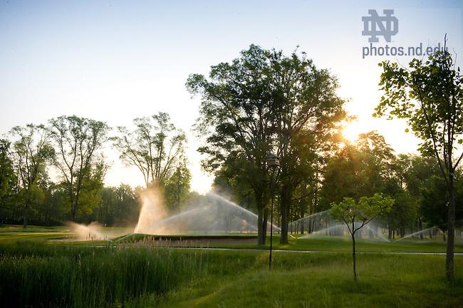 June 2, 2011; Warren Golf Course..Photo by Matt Cashore/University of Notre Dame