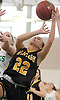 Julianna Kissane #22 of Wantagh draws a shooting foul during a non-league varsity girls basketball game against host Seaford High School on Friday, Dec. 29, 2017. Seaford won by a score of 65-56.