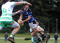 Manawatu v Wanganui spell of the Game of Three Halves pre-season rugby match at Taihape Domain in Taihape, New Zealand on Friday, 27 July 2018. Photo: Dave Lintott / lintottphoto.co.nz