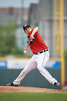 Erie SeaWolves starting pitcher Alex Faedo (29) during an Eastern League game against the Altoona Curve on June 5, 2019 at UPMC Park in Erie, Pennsylvania.  Altoona defeated Erie 6-2.  (Mike Janes/Four Seam Images)