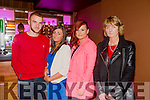 Gary Baker,Sinead McCrohan,Siobhan McCrohan and Jackie McCrohan at the opening of Quarters Bar & Nite Club Tralee on Saturday