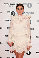 LONDON, UK. October 21, 2018: Danielle Lloyd at tthe BBC Radio 1 Teen Awards 2018 at Wembley Stadium, London.<br /> Picture: Steve Vas/Featureflash