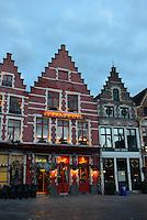 Guild Houses On Market Square, Brugge