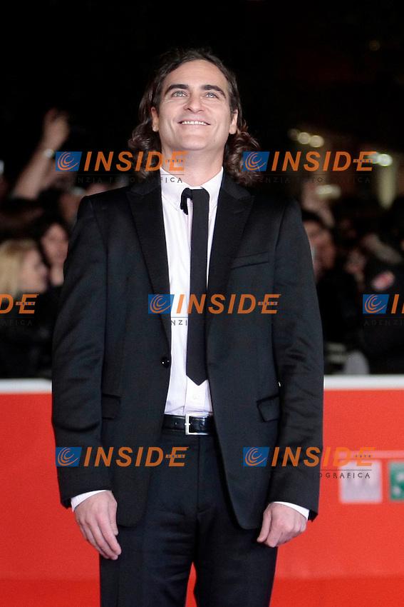 Joaquin Phoenix<br /> Roma 10-11-2013 Auditorium <br /> Festival Internazionale del Film di Roma<br /> Rome Film Festival <br /> 'Her' Red Carpet<br /> Foto Samantha Zucchi / Insidefoto