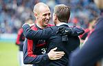 07.04.2018 Rangers v Dundee:<br /> Kenny Miller and Neil McCann