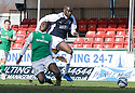 27/03/2010   Copyright  Pic : James Stewart.sct_jspa15_falkirk_v_hibernian  .::  SOL BAMBA IS CAUGHT BY ENOCH SHOWUNMI ::  .James Stewart Photography 19 Carronlea Drive, Falkirk. FK2 8DN      Vat Reg No. 607 6932 25.Telephone      : +44 (0)1324 570291 .Mobile              : +44 (0)7721 416997.E-mail  :  jim@jspa.co.uk.If you require further information then contact Jim Stewart on any of the numbers above.........