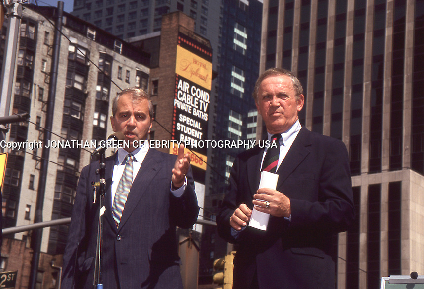 Paul Tsongas & Warren Rudman 1992 by Jonathan Green