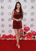 HOLLYWOOD, CA - APRIL 7:  Olivia Rodrigo at the My Friend's Place 30th Anniversary Gala at the Hollywood Palladium on April 7, 2018 in Hollywood, California. (Photo by Scott KirklandPictureGroup)