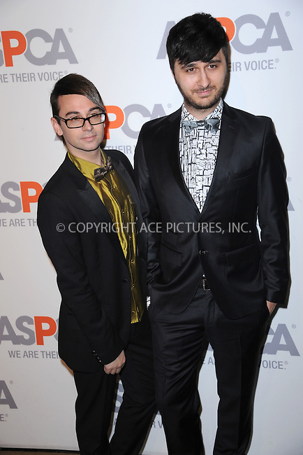 WWW.ACEPIXS.COM<br /> April 9, 2015 New York City<br /> <br /> Christian Siriano and Brad Walsh attending the 18th Annual ASPCA Bergh Ball at the Plaza Hotel on April 9, 2015 in New York City.<br /> <br /> Please byline: Kristin Callahan/AcePictures<br /> <br /> ACEPIXS.COM<br /> <br /> Tel: (646) 769 0430<br /> e-mail: info@acepixs.com<br /> web: http://www.acepixs.com