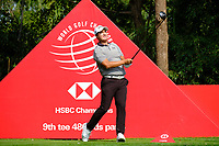 Sihwan Kim (USA) on the 9th during the 1st round at the WGC HSBC Champions 2018, Sheshan Golf CLub, Shanghai, China. 25/10/2018.<br /> Picture Phil Inglis / Golffile.ie<br /> <br /> All photo usage must carry mandatory copyright credit (&copy; Golffile | Phil Inglis)