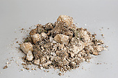 Chalky soil sample