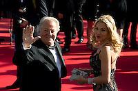 "Massimo Gargia et Valeria Marini - Projection du film ""Le Passe"" lors du 66 eme Festival du film de Cannes - Cannes 17/05/2013  .Cannes 18/5/2013 .Festival del Cinema di Cannes .Foto Panoramic / Insidefoto .ITALY ONLY"