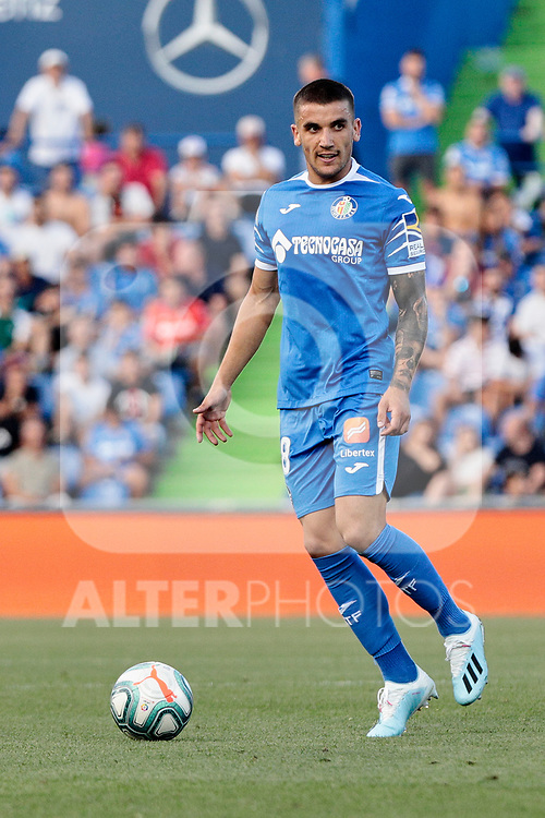 Mauro Arambarri of Getafe CF during La Liga match between Getafe CF and Deportivo Alaves at Colisseum Alfonso Perez in Getafe, Spain. August 31, 2019. (ALTERPHOTOS/A. Perez Meca)