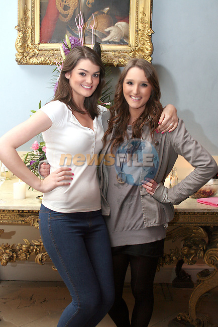 Eileen Crerar and Tamara Conyngham at the Fashion Show in Slane Castle in aid of Stackallen Tennis and Pitch and Putt Club and supporting Action Breast Cancer...Photo NEWSFILE/Jenny Matthews.(Photo credit should read Jenny Matthews/NEWSFILE)....This Picture has been sent you under the condtions enclosed by:.Newsfile Ltd..The Studio,.Millmount Abbey,.Drogheda,.Co Meath..Ireland..Tel: +353(0)41-9871240.Fax: +353(0)41-9871260.GSM: +353(0)86-2500958.email: pictures@newsfile.ie.www.newsfile.ie.FTP: 193.120.102.198.