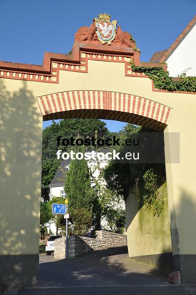 Torbogen Renaissance Schloss Sorgenloch (18. Jh.)