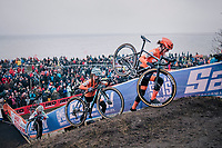 Marianne Vos (NED/CCC)<br /> <br /> Women&rsquo;s Elite race<br /> <br /> UCI 2019 Cyclocross World Championships<br /> Bogense / Denmark<br /> <br /> &copy;kramon