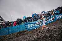 CX World Champion Sanne Cant (BEL/Iko-Beobank)<br /> <br /> women's race<br /> Soudal Jaarmarktcross Niel 2018 (BEL)