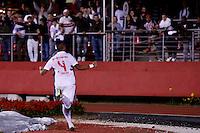 SAO PAULO, SP 14 AGOSTO 2013 - SANTOS X VASCO - O time do Vasco durante o início da partida de hoje, 14, no Estádio Vila Belmiro. Os times disputam a 13 Rodada do Campeonato Brasileiro. foto: Paulo Fischer/Brazil Photo Press.