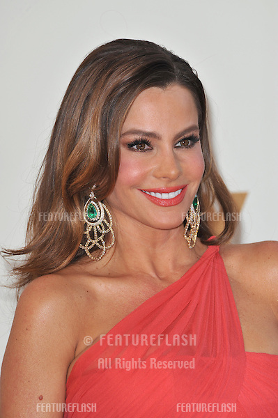 Sofia Vergara arriving at the 2011 Primetime Emmy Awards at the Nokia Theatre, L.A. Live in downtown Los Angeles..September 18, 2011  Los Angeles, CA.Picture: Paul Smith / Featureflash
