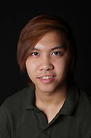 MODEL RELEASED - Asian (Filipino) 17 years old male teenager smiling