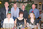 PACK: The Life Pack Group Ballyheigue who held their Christmas party at Kate Browne's Bar & Restaurant, Ardfert on Friday night. Front L-r :Geraldine Galloway,Marie Horgan and Judy Cantillon. Back l-r: Mike Galloway, Ger Fitzgibbon, Tony and Berrnard Hehir. ......