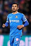 Angel Rodriguez of Getafe FC during La Liga match between Getafe CF and RC Celta de Vigo at Coliseum Alfonso Perez in Getafe, Spain. March 07, 2020. (ALTERPHOTOS/A. Perez Meca)