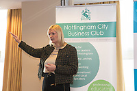 February Guest speaker Karen Smart, Managing Director of East Midlands Airport