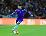 Netherland's Memphis Depay in action during the International friendly match at Wembley.  Photo credit should read: David Klein/Sportimage
