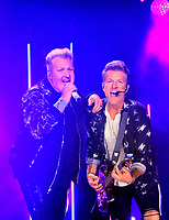 06 June 2019 - Nashville, Tennessee - Gary LeVox, Joe Don Rooney, Rascal Flatts. 2019 CMA Music Fest Nightly Concert held at Nissan Stadium. Photo Credit: Dara-Michelle Farr/AdMedia