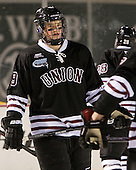 Daniel Carr (Union - 9) - The Union College Dutchmen defeated the Harvard University Crimson 2-0 on Friday, January 13, 2011, at Fenway Park in Boston, Massachusetts.