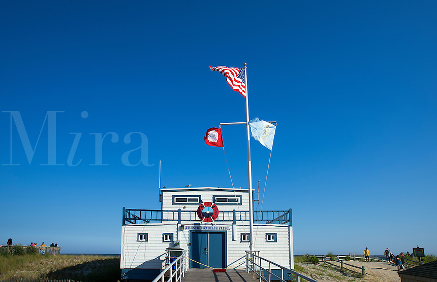 Atlantic City Beach Patrol office,  New Jersey, USA