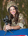 Miss Scotland Nicole Treacy : 124 Field Squadron TA Cumbernauld