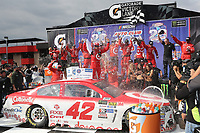 03/26/17 Kyle Larson wins the Auto Club 400