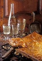 """Europe/France/73/Savoie/Val d'Isère: Feuilleté Savoyard du restaurant d'Altitude de Luc Reversade: """"La Folie Douce"""""""