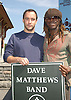 Dave Mattthews and  Boyd Tinsley..at the announcement of Dave Matthews Band concert on September 12, 2003 in Central Park. The concert will be in .Central Park on September 24, 2003. Photo By Robin Platzer, Twin Images