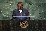 DSG meeting<br /> <br /> AM Plenary General DebateHis<br /> <br /> <br /> <br /> His Excellency Hage Geingob, President, Republic of Namibia