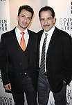 Andres Munar & Tony Shalhoub attending the Broadway Opening Night After Party for The Lincoln Center Theater Production of 'Golden Boy' at the Millennium Broadway in New York City on December 6, 2012