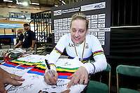 Picture by Alex Whitehead/SWpix.com - 03/03/2017 - Cycling - UCI Para-cycling Track World Championships - Velo Sports Center, Los Angeles, USA - Jennifer Schuble