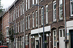 Inner city terraced housing Kortenaerstraat, Rotterdam, Netherlands
