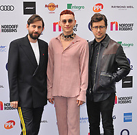 Years & Years (Olly Alexander, Mikey Goldsworthy and Emre Türkmen) at the Nordoff Robbins O2 Silver Clef Awards 2019, JW Marriott Grosvenor House Hotel, Park Lane, London, England, UK, on Friday 05th July 2019.<br /> CAP/CAN<br /> ©CAN/Capital Pictures